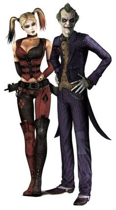 29443 - Batman: Arkham City: The Joker and Harley Quinn.