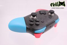 Nintendo Switch Neon Pro Controller by Evil Controllers.
