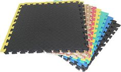 #Interlocking eva soft #rubber foam #exercise yoga gym floor mats play area garag,  View more on the LINK: http://www.zeppy.io/product/gb/2/141837208733/