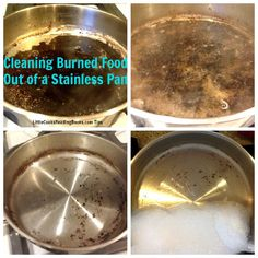 1000 images about burned pans on pinterest clean burnt pots cleaning burnt pots and baking soda - Clean burnt grease oven pots pans ...