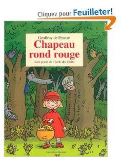 Chapeau rond rouge de Geoffroy de  Pennart