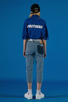 """not those pants tho. Whatever this """"Error"""" label is, they certainly know their clothes are hideous! Xo ☾┼♡ P I N T E R E S T : narcolepticbean ♡┼☽ Look Fashion, Korean Fashion, Fashion Models, Fashion Outfits, Womens Fashion, Fashion Design, Pull, Editorial Fashion, Fashion Photography"""