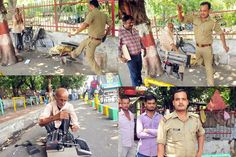 Recently you would have seen the images of a #policeman in #Lucknow smashing and destroying an elderly man's #typewriter. The story broke out of September 19, when a photo generalist Ashutosh Tiwari clicked and shared the pictures of #Inspector Pradeep Kumar.  #PoliceBrutiality #cop #9hues