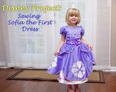 Disney Rain or Shine! : Disney Project: Sewing Sofia the First Dress