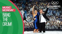 "Nelly Furtado and Bryan Adams perform ""Bang the Drum"" a song especially composed for the Opening Ceremony of the Vancouver 2010 Olympic Winter Games. Olympic Music, Olympic Channel, Nelly Furtado, Bryan Adams, Winter Games, Opening Ceremony, Drums, Olympics, Vancouver"
