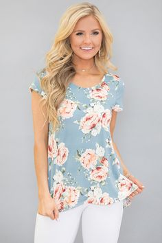 Flower Child Vibes Floral Blouse