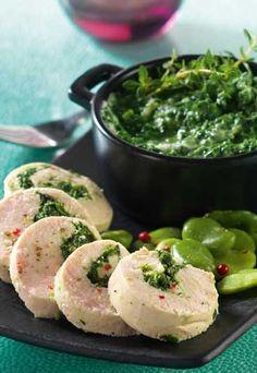 Recette minceur Jenny Craig : Roulé de poulet aux épinards - Régime Jenny Craig: les recettes minceur du régime Jenny Craig