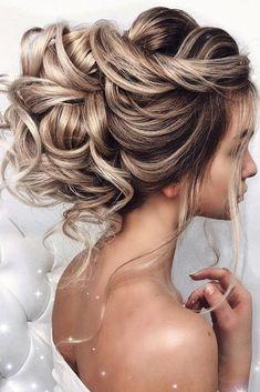 Bride Hairstyles For Long Hair, Wedding Hairstyles Half Up Half Down, Simple Wedding Hairstyles, Boho Wedding Hair Updo, Bridesmaid Hair Updo, Wedding Bride, Bridal Updo, Wedding Beauty, Prom Hair