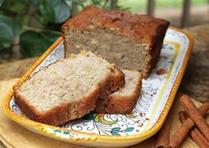 Cinnamon Apple Quick Bread  (as curiosity had gotten the best of me, I had to make this recipe after I pinned...soooooo moist and yummy!!! this is a keeper!)
