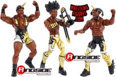 Booty O's WWE Elite 3-Pack - New Day WWE Toy Wrestling Action Figures