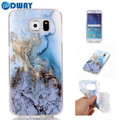 Marble Pattern TPU IMD Case for Samsung Galaxy S6 S5 S4 S3 / S6 Edge Phone Case Cover Soft Gel Rubber-in Fitted Cases from Cellphones & Telecommunications on Aliexpress.com | Alibaba Group