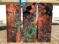 Stabilized Wood, Pen Blanks, Pens, Knives, Resin, Artisan, Diy, Bricolage, Craftsman