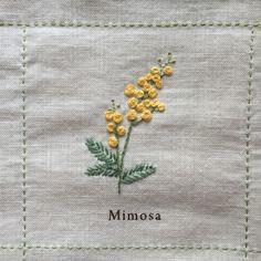 Nuu Amu ~ ki to hi ~の画像 - flower embroidery idea