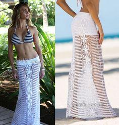 Пляжные модельки от Letarte. Схемы вязания крючком