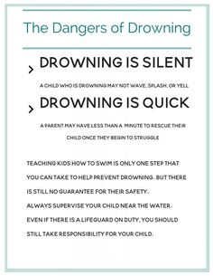 3 Life Saving Things that Parents Can Do to Prevent Drowning Teach Kids To Swim, Swimming Benefits, First Aid Tips, Water Safety, Travel Nursing, Swim Lessons, Helping Children, Safety Tips, Teaching Kids