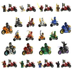 20 Styles Building Blocks Ninja Moto Ninja Kai Jay Zane Cole Lloyd Lord Carmadon Tornado Motorcycle Minifigures Blocks New #>=#>=#>=#>=#> Click on the pin to check out discount price, color, size, shipping, etc. Save and like it!