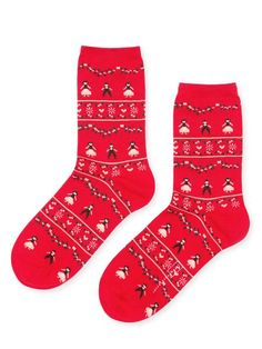 These socks are so cheerful, festive, and full of charm. Great gift idea or just to spoil yourself! Festivities Crew by Hansel from Basel. To Spoil, Basel, Cotton Style, Christmas Stockings, Cheer, Great Gifts, Socks, Charmed, Fashion Trends