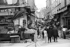 Paris 1960 Rue Mouffetard