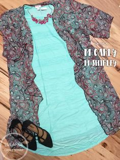 A mint ruffle Carly is already amazing, and add a paisley print Shirley over top in gorgeous colors?? This outfit is perfect! #lularoecaseyschar #outfitsbycasey #outfitsstyledbycasey #styled #mint #paisely #lularoeshirley #shirley #styledoutfit