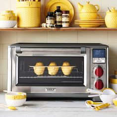 Wolf Gourmet Countertop Oven | Sur La Table Countertop Oven, Countertops, Electric Wall Oven, Cinnamon Rolls, Brunch, Kitchen Appliances, Dinner, Baking, Wolf