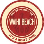 Waihi Beach - The Gateway to The Coromandel and the Bay of Plenty, New Zealand. Beach Logo, New Zealand, Surfing, News, Auckland, Walking, Places, Surf, Walks