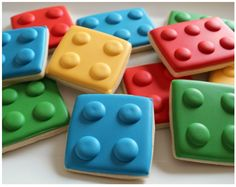Lego Cookies.  For @Kristal Molina