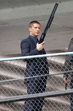 Tom Hardy - Reese Witherspoon, Chris Pine and Tom Hardy Film Scenes