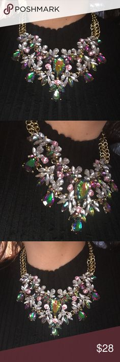 New Gorgeous Must Have Statement Necklace Brand New Beautiful Statement Necklace Must Have! Dallas Stylez Jewelry Necklaces