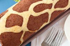 Csodás, zsiráfmintás piskótatekercs: sokkal egyszerűbb, mint gondolnád - Recept | Femina