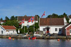 Gamle Hellesund in Lillesand. Photo: Elisabeth Høibo©Visit Sørlandet