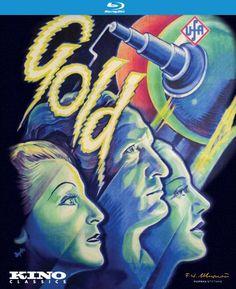 Gold (1934) - Blu-Ray (Kino Lorber Region A) Release Date: June 14, 2016 (Amazon U.S.)