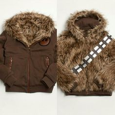 Wookie-reversible-jacket #starwars