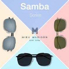 #miramadisonbrand ✨ new arrival ✨ 😎 Samba Series (รุ่น แซมบ้า) 😎 ใหม่ล่าสุด ! แว่นตากันแดดแฟชั่นรุ่นแซมบ้า เป็นแว่นตากันแดดแฟชั่น ที่มีน้ำหนักเบา ใส่แล้วสบายตา  เลนส์มีทั้งหมด 3 สี  - เลนส์สีเหลืองทอง - เลนส์สีดำโปร่ง - เลนส์สีเงิน สั่งซื้อสินค้าได้ที่ Line @miramadison (have @) หรือ ตามshopของเราที่ห้างสรรพสินค้าชั้นนำ  ตามที่ประกาศไว้นะค่ะ พิเศษ!!!ช่วงเปิดตัวแบรนด์ในประเทศไทย รับส่วนลด และราคาพิเศษมาก #samba #sunglasses