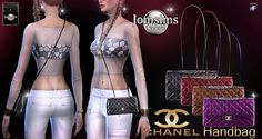 Sims 4 CC's - The Best: Chanel Handbag by Jomsims