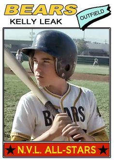 Kelly Leak Topps (1976) Bad News Bears