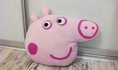 Peppa pig handmade pillow