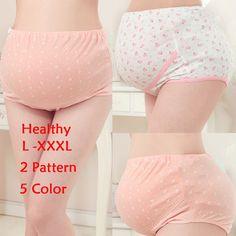 c096691090f3e US $2.49 |L XXXL Women's Cotton Pregnant High Waist Underwear Briefs  Maternity Panties Intimates Empire Waist Pregnancy Underwear on  Aliexpress.com ...