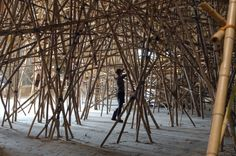 Mike and Doug Starn - Studio Visit - 2010 #art #installation