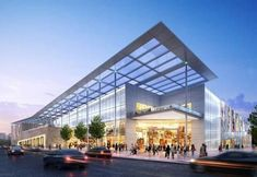 new shopping center shi shi Design Café, Mall Design, Shop Front Design, Retail Design, Architecture Design, Retail Architecture, Commercial Architecture, Shopping Mall Architecture, Cultural Architecture