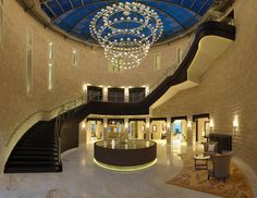 gorgeous foyer. jumeirah port soller hotel + spa. mallorca.