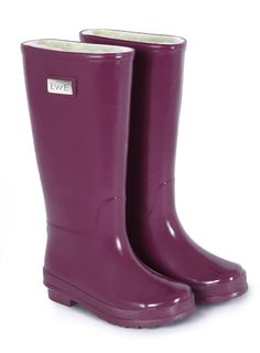 EWE wellies in Cranberry, my favourite