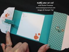 Stampin' Up!® How to Make this Gorgeous Grunge fun fold card - Stamp Your Art Out!