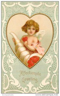 . My Funny Valentine, Valentine Cupid, Valentine Images, Valentines Greetings, Vintage Valentine Cards, Saint Valentine, Vintage Greeting Cards, Vintage Postcards, Happy Valentines Day