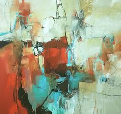 Karen Roehl Fine Art Paintings   ABSTRACTS Untitled 171617