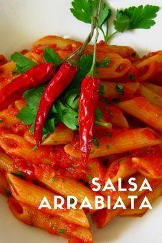 Receta de la Salsa Arrabiata, un plato tradicional de la Cocina -italaiana. El Secreto de esta salsa esta basado en la forma de...