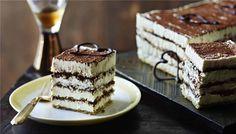 Tiramisu Cake - Like Mary Berry {The Great British Bake Off} herself, this cake version of tiramisu is elegant, generous and very sweet : BBC Food Food Cakes, Cupcake Cakes, Cupcakes, Great British Bake Off, Bolo Tiramisu, Tiramisu Recipe, Mary Berry Tiramisu Cake Recipe, Berry Cake, Chocolate Shapes