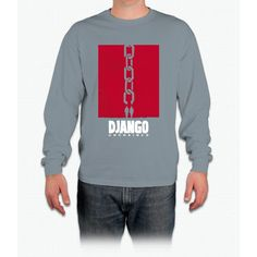 Django Unchained Chain Movie Poster Bee Movie Long Sleeve T-Shirt