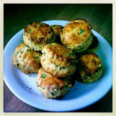 The Greedy Gardener — Cheese and wild garlic scones Whilst there's not...