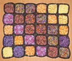 Crochet Rug http://wollfadenwelt.blogspot.co.at/