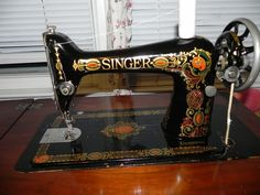 "Dinah's Quilts and Embroidery: My ""New"" Antique Singer 66 ""Red Eye"" Treadle Machine- The Clean Up!!"